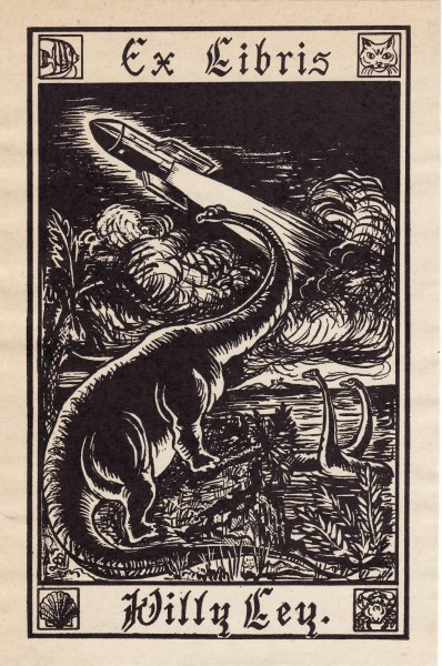 willy ley bookplate