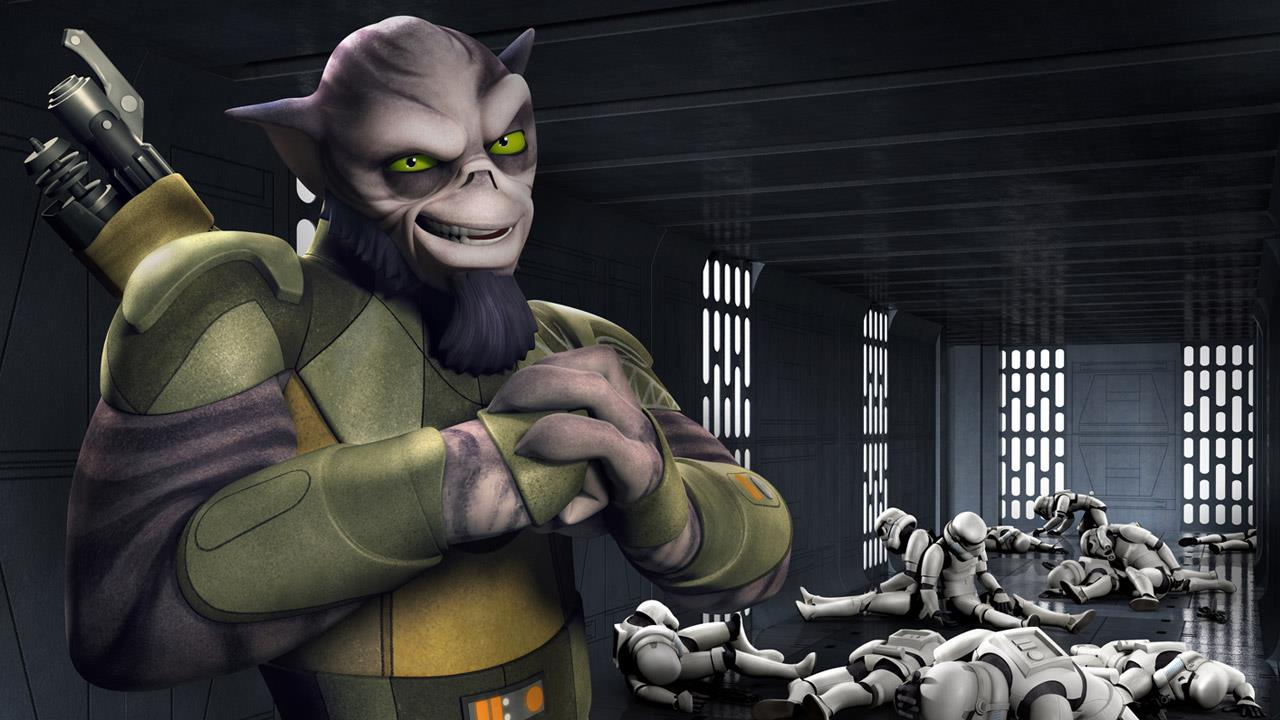 meet all the main characters for star wars rebels nerd
