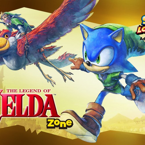 Sonic dashes through Hyrule in Sonic Lost World in latest DLC