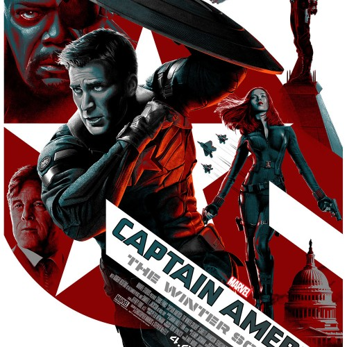 Captain America: The Winter Soldier gets stylized posters and a new TV spot
