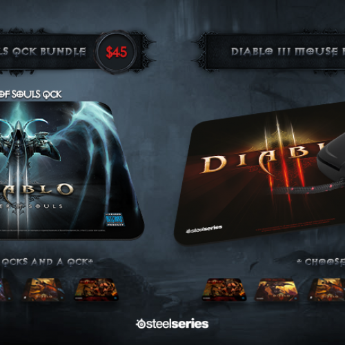 Diablo 3-themed Steelseries mouse and headset 40% off until midnight March 25th