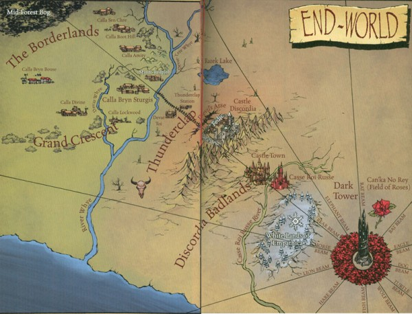 End World Map