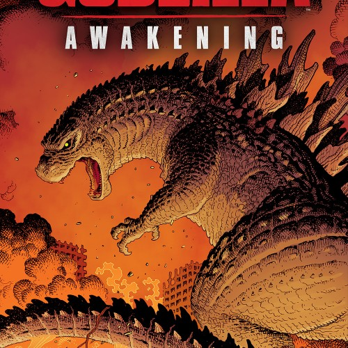 Godzilla: Awakening cover reveals another look at the King of the Monsters