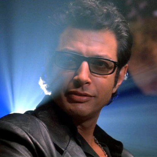 Listen to Jeff Goldblum mezmerizing laugh from Jurassic Park