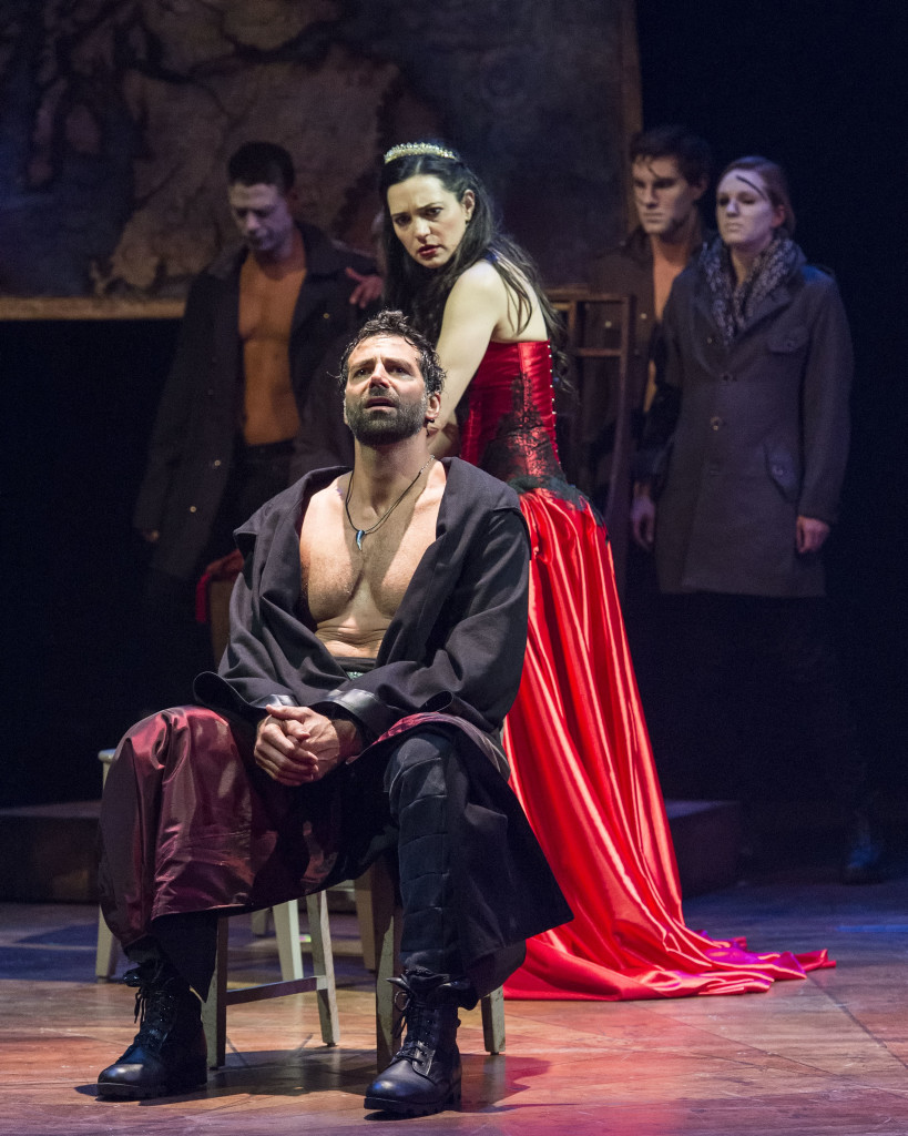 an analysis of macbeths personality in the play macbeth Get free homework help on william shakespeare's macbeth: play summary, scene summary and analysis and original text, quotes, essays, character analysis, and.