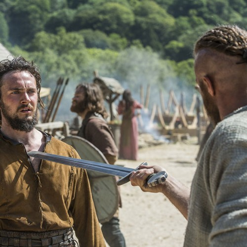 Vikings Episode 2 has the vikings reaching new land and Athelstan learning to fight