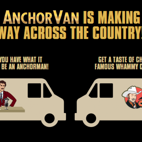 Follow the #AnchorVan for Free Whammy Chicken!