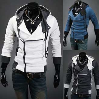 Look like Desmond in these cool Assassin's Creed-inspired hoodies ...