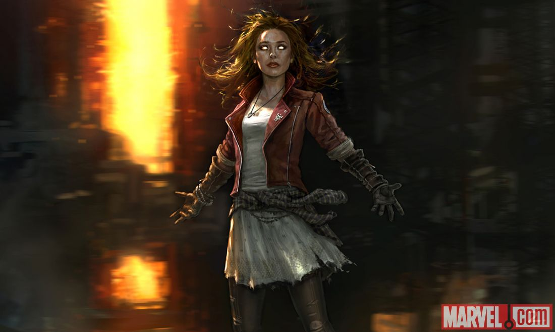 marvel reveals quicksilver scarlet witch and hulkbuster