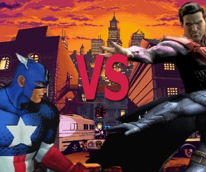 captain america vs batman superman