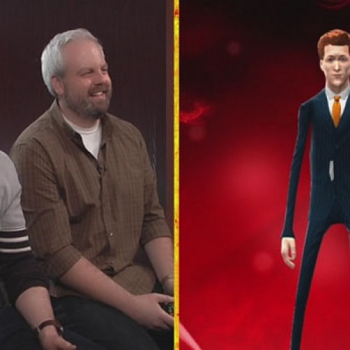 Conan O'Brien plays WWE 2K14 and makes fun of another redhead, Sheamus