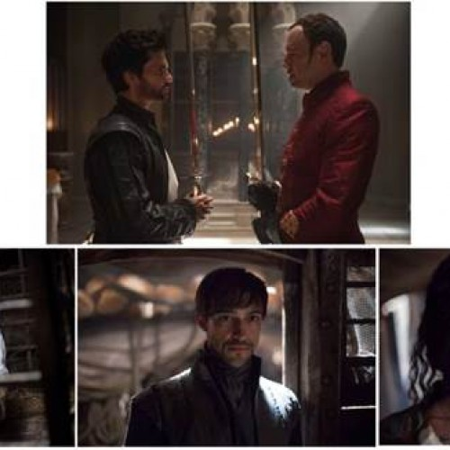 Preview clips for Da Vinci's Demons Ep 202, 'The Blood of Brothers'