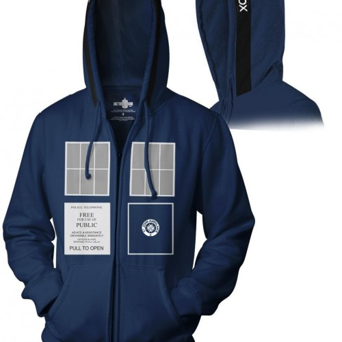 Contest: Winner Announced for Doctor Who Hoodie Giveaway