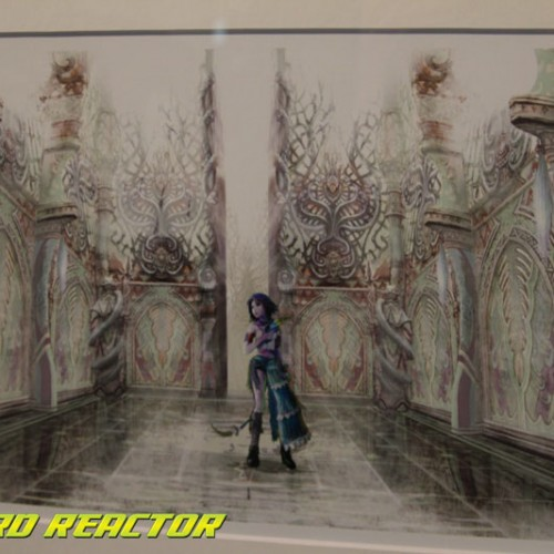 Final Fantasy X / X-2 HD Remaster art event at Gallery Nucleus