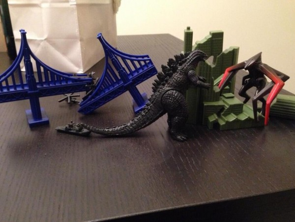 Godzilla toys reveal first look at enemy kaiju | Nerd Reactor