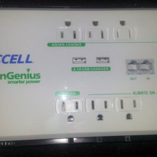 GreenGenius 8 Outlet Smart Surge Protector Review