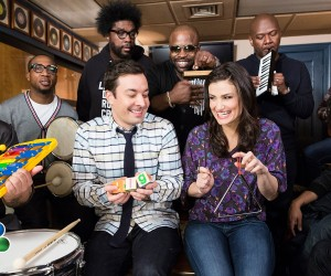 idina menzel jimmy fallon let it go