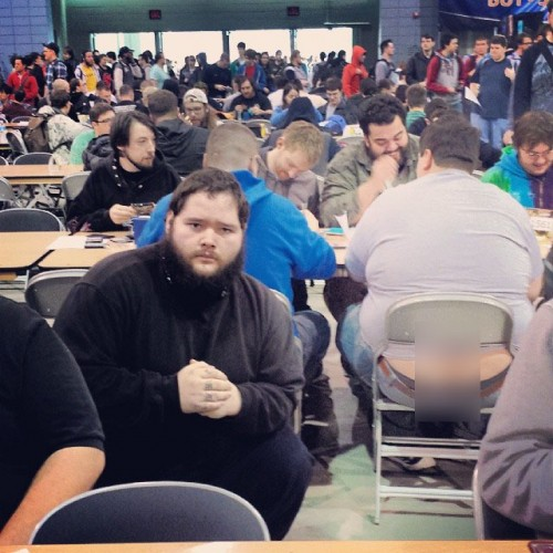 The most epic buttcrack gallery of Magic: The Gathering players