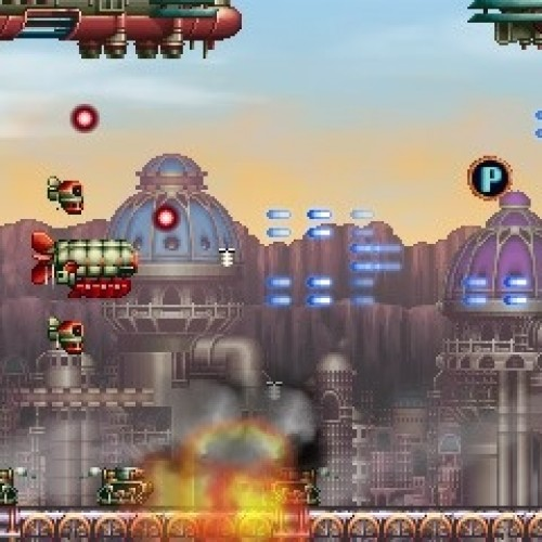 3DS Shmup Steel Empire, shooting for a summer release