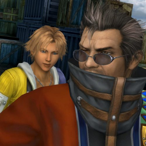 Watch Tidus' annoying laugh in all of the Final Fantasy X dialogue