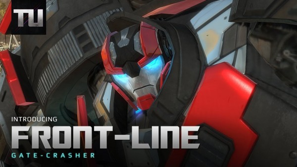 transformers universe front-line