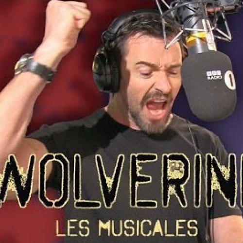Hugh Jackman as Wolverine does Les Miserables
