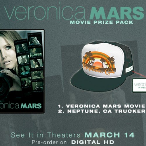 Contest: Winner announced for Veronica Mars Movie DVD Giveaway