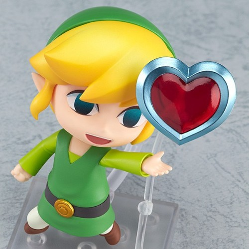 The Legend of Zelda: The Wind Waker Link Nendroid coming this August