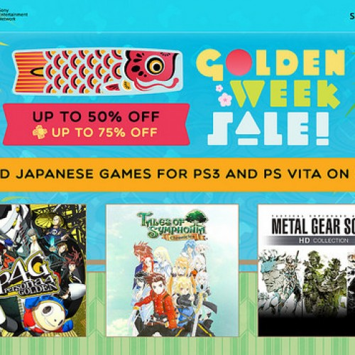 PlayStation Network celebrates Golden Week Sale in North America