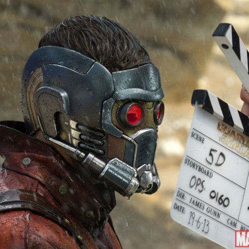Marvel releases first close up look at Star-Lord's mask