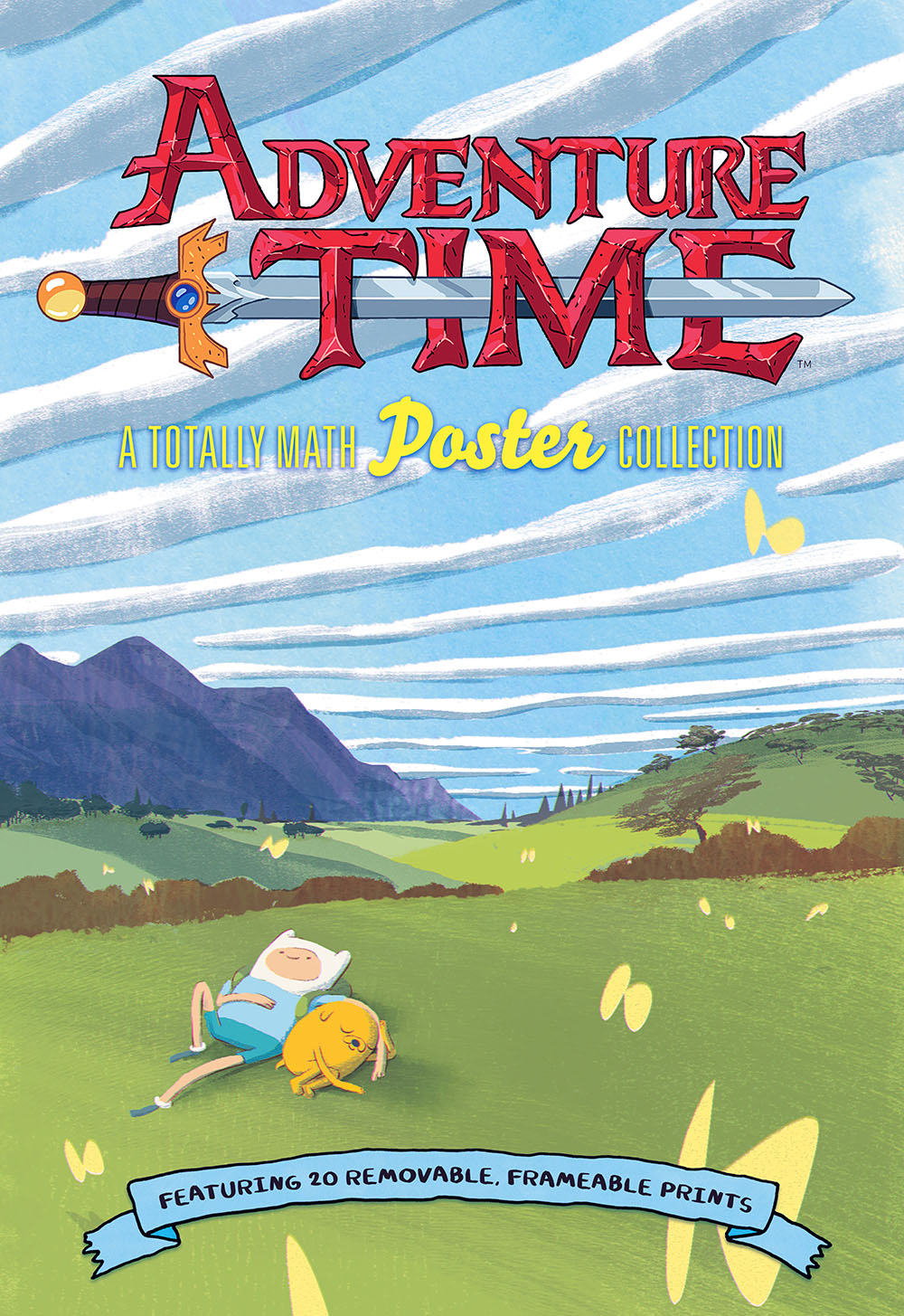 Adventure Time: A Totally Math Poster Collection - Nerd Reactor