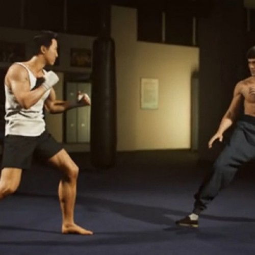 Bruce Lee vs. Donnie Yen in 'A Warrior's Dream'