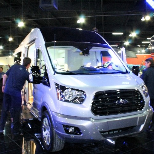 Ride around like a king with the Ford Transit Skyliner Concept
