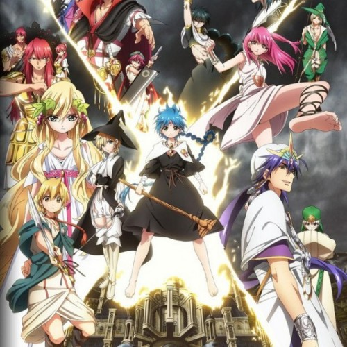 Want to be a voice actor in an anime? Try out for Magi 2 at Anime Expo 2014