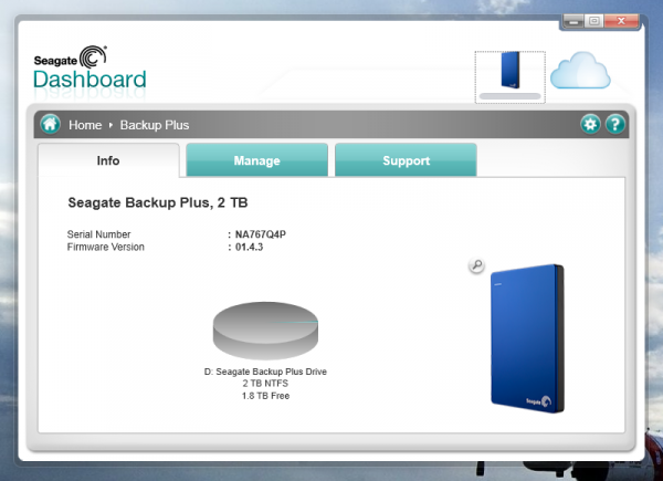 how to use seagate backup plus slim