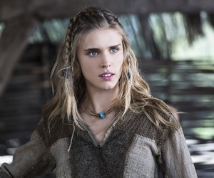 Vikings Porunn (Gaia Weiss), Bjorn's love interest