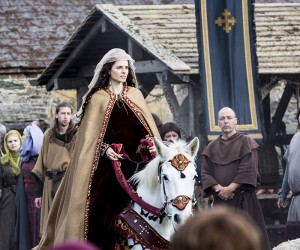 Vikings Princess Kwenthrith arrives at Wessex