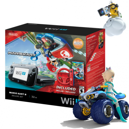 Mario Kart Wii U Bundle coming May 30 for $329.99