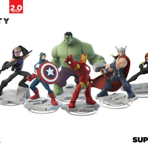 Marvel heroes to be in Disney Infinity 2.0
