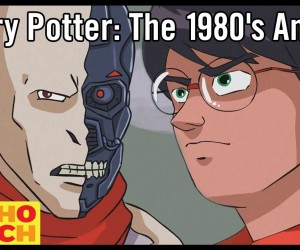 harry potter 1980s anime