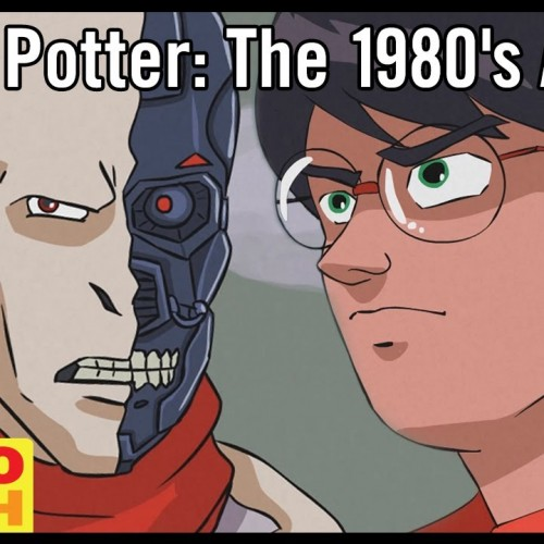 Harry Potter as an '80s anime?