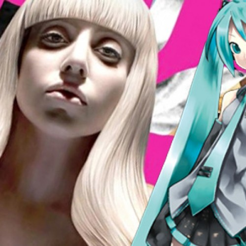 Virtual Diva Hatsune Miku to open for Lady Gaga's ARTPOP Ball Tour