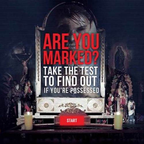 Paranormal Activity: The Marked Ones' possession test prank!