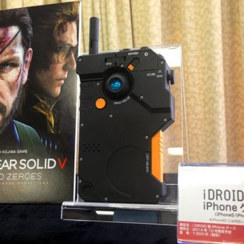 Get your very own Metal Gear Solid V: Ground Zeroes' iDROID