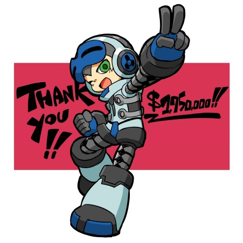 Mighty No. 9 delayed until September, plus partners with Deep Silver