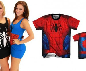 spider-man tank dress or spidey t-shirt