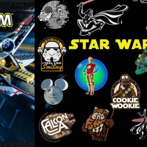 Contest: Star Wars T-shirts and LEGO Giveaway (Prizes over $300 in value)