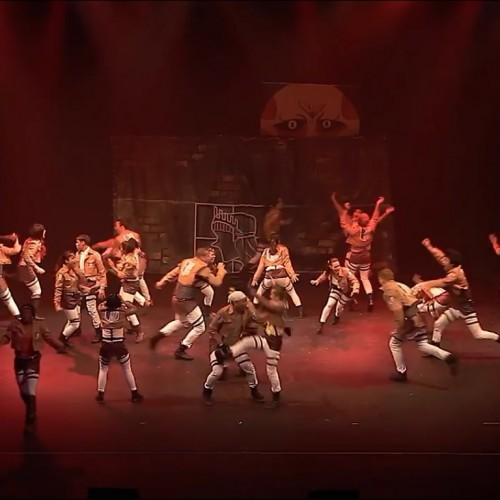 Watch this group's amazing Attack on Titan inspired dance