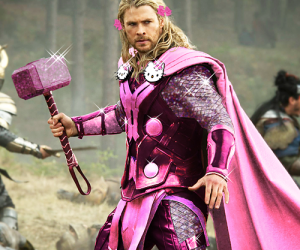 thor hello kitty