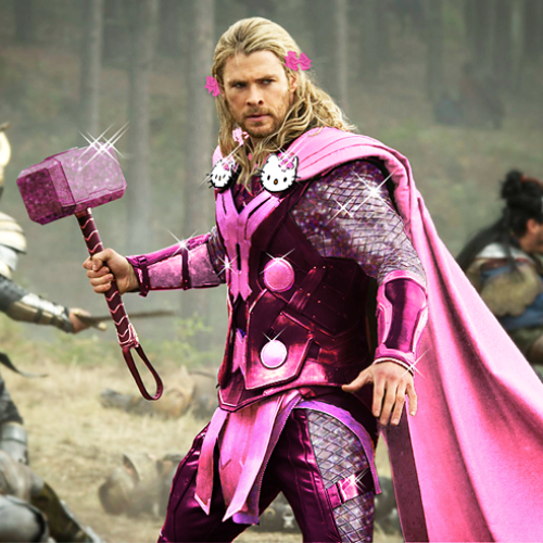 Look: The Avengers get new cute pink costumes as if by Sanrio